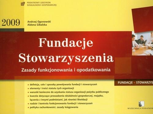 Fundacje Stowarzyszenia 2009 Ogonowski Andrzej, Gibalska Aldona