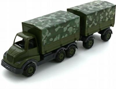 Samochód Wader-Polesie Muromiec z plandeką wojskową i przyczepą (49100)