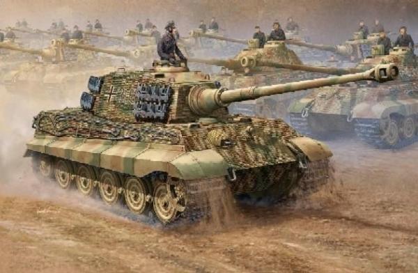 TRUMPETER German King Tiger 2 in 1