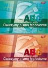 Blok do pisma technicznego A4 6 kartek 10 sztuk mix