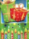 Torebka ozdobna 3D duża urodzinowa prezent
