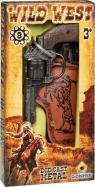 Rewolwer kowbojski metalowy z kaburą 8 naboi Gonher (155201/0)