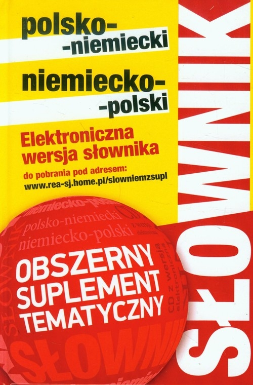 Słownik polsko-niemiecki niemiecko-polski z suplementem bez CD