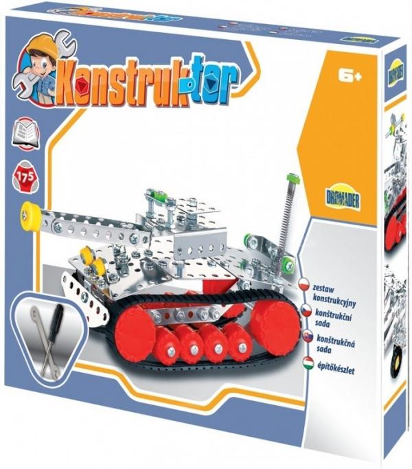 175 elementów Konstruktor Czołg (02410)