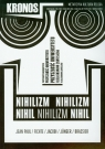 Kronos 1/2011 Nihilizm