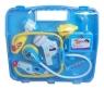 Zestaw małego lekarza w walizce niebieski
