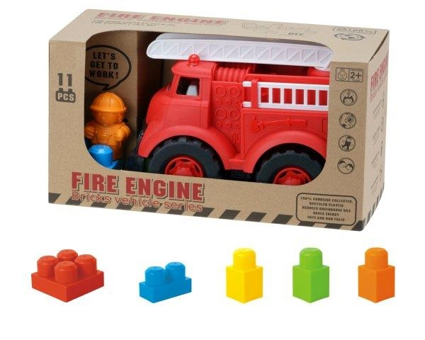 Straż pożarna z klockami (101101)