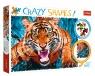 Puzzle Crazy Shapes! 600: Oko w oko z tygrysem (11110)