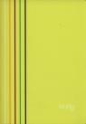 Zeszyt A5 Narcissus Arc w kratkę 80 kartek żółty