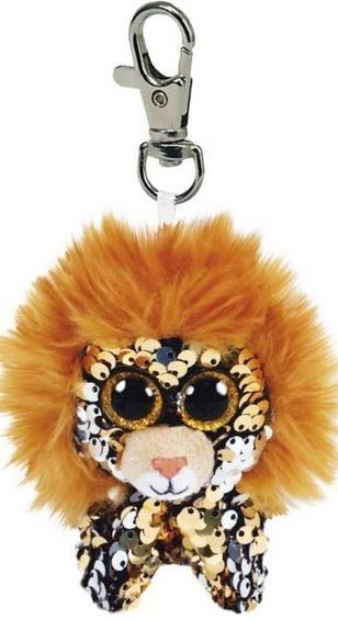 Brelok-maskotka Beanie Boos: Regal - cekinowy lew (35310)