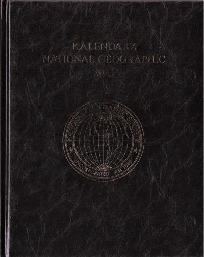 Kalendarz 2021 National Geographic czarny praca zbiorowa
