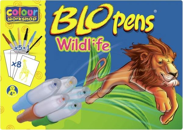 Centropen: BLOpens 1500, 5+1 kolorów + 8 szablonów Wildlife