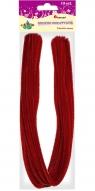 Dodatek dekoracyjny Craft-fun druciki kreatywne 0,6x50cm czerwone(109 20 004)