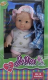 Lalka Julka pachnąca 21 cm niebieska
