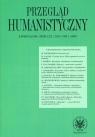 Przegląd Humanistyczny 2015 / 1