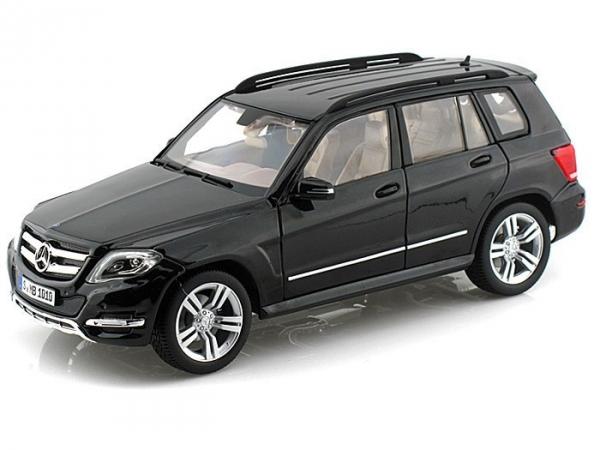 WELLY Mercedes GLK-Class black GTA (11008BLACK)