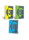 Kołozeszyt Student Book, A5 100 kartek kratka, 3 przedmioty 400091126