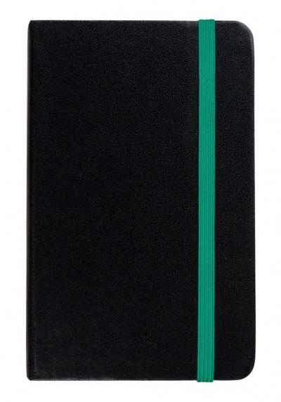 Notes A6 Linia czarny/ zielony ANTRA