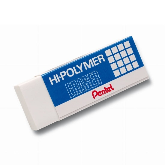 Gumka ołówkowa Pentel Hi-Polymer (ZEH10)
