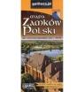 Mapa zamków Polski, 1:900 000