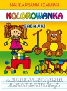 Kolorowanka. Zabawki Guzowska Beata