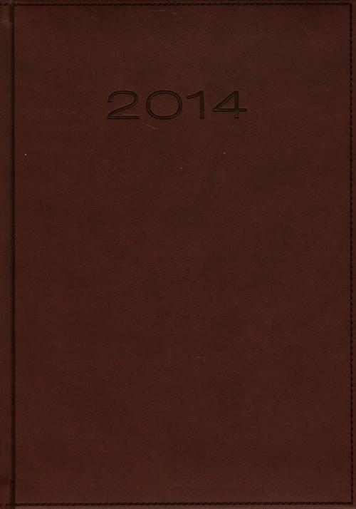 Kalendarz 2014 B5 51T Bordo menadżerski tygodniowy