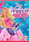 Zeszyt A5 Barbie w linie 32 kartki Princess Rocks