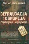Defraudacja i korupcja Zapobieganie i wykrywanie