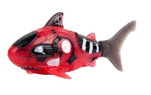 Robofish Pirat z siatką czerwona