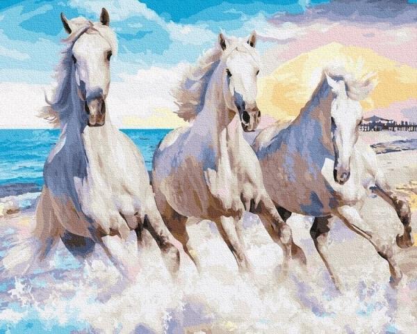 Malowanie po numerach - Konie (GX30729)