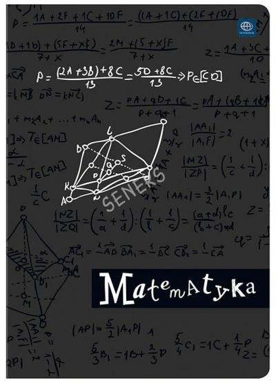 Zeszyt A5/60 kartkowy w kratkę - Matematyka