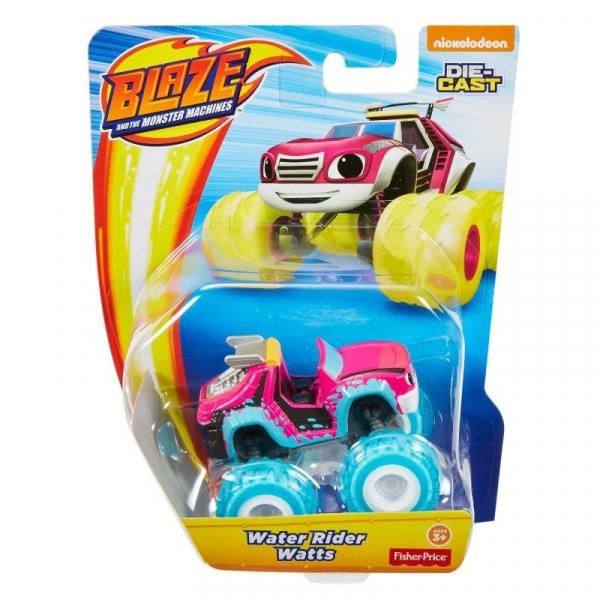 Blaze i Megamaszyny: Metalowy pojazd - Water Rider Watts (CGF20/GGW62)