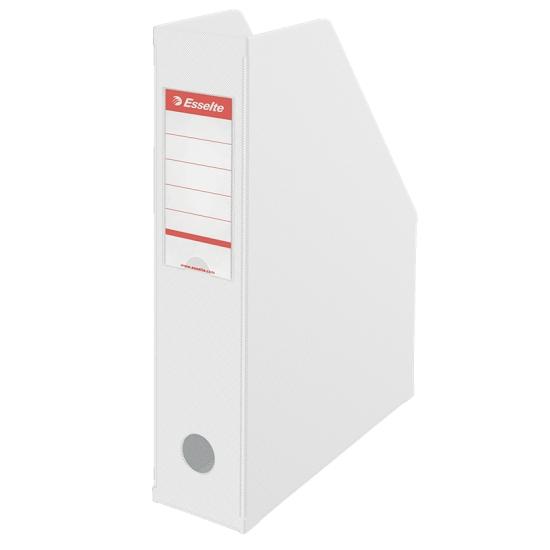 Pojemnik Esselte VIVIDA, składany A4/7cm - biały (56000)