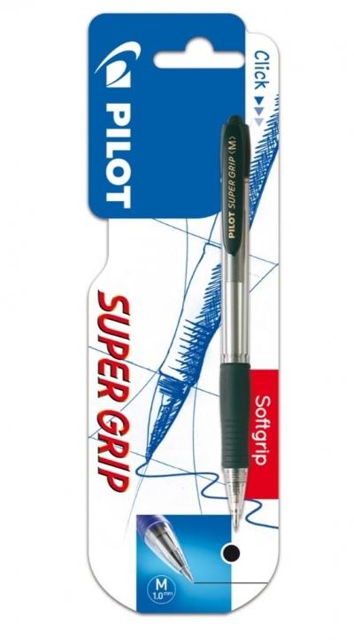 Długopis Super Grip - czarny 1.0