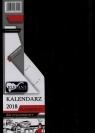 Kalendarz Flamenco czarny A6 tygodniowy 2018