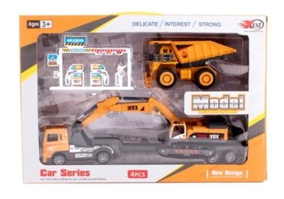Zestaw pojazdów budowlanych MIX
