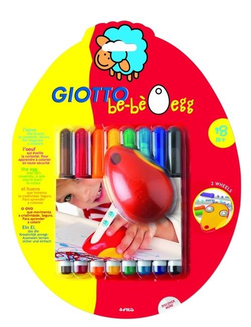 Flamastry Giotto BeBe Jajko 8 kolorów
