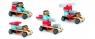 Drewniany składany samochód Bolid (DJ06410)