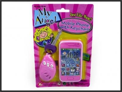 Telefon zabawkowy Hipo Z KLUCZYKIEM (HKL046)