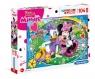 Clementoni, puzzle Maxi SuperColor 104: Minnie (23708)
