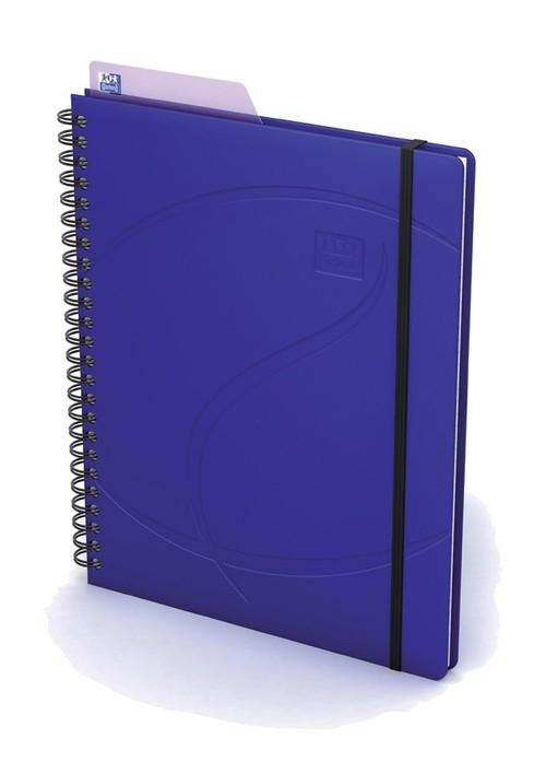 Kołonotatnik Oxford A5 60 kartek w kratkę Beauty Multi-tasker niebieski