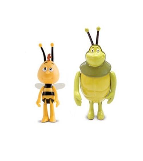 Pszczółka Maja figurki w tubie Gucio i Teodor