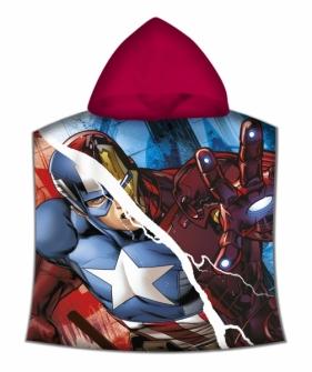 Avengers, poncho kąpielowe 120x60 cm (MV15157)