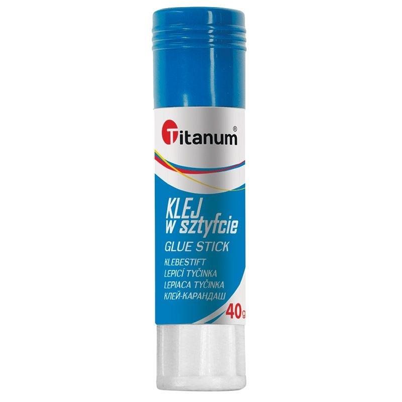 Klej w sztyfcie Titanum PVA 40g (407547)