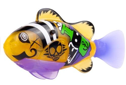 Robofish Pirat z siatką żółta