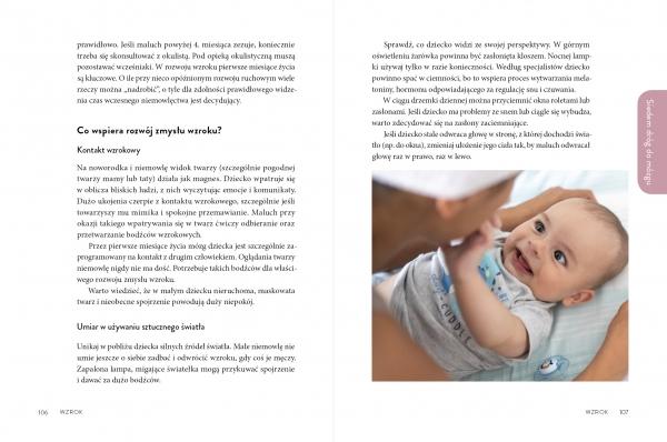 Sensoryczne niemowlę Charęzińska Aleksandra, Szulc Joanna