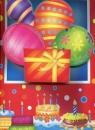 Torebka ozdobna 3D duża urodzinowa balony