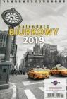 Kalendarz 2019 KBA5 Biurkowy A5 słoneczniki
