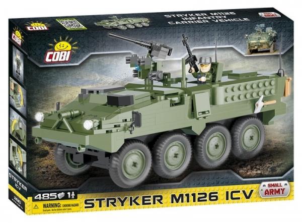 Cobi: Mała Armia. Stryker M1126 ICV - amerykański kołowy wóz opancerzony (2610)