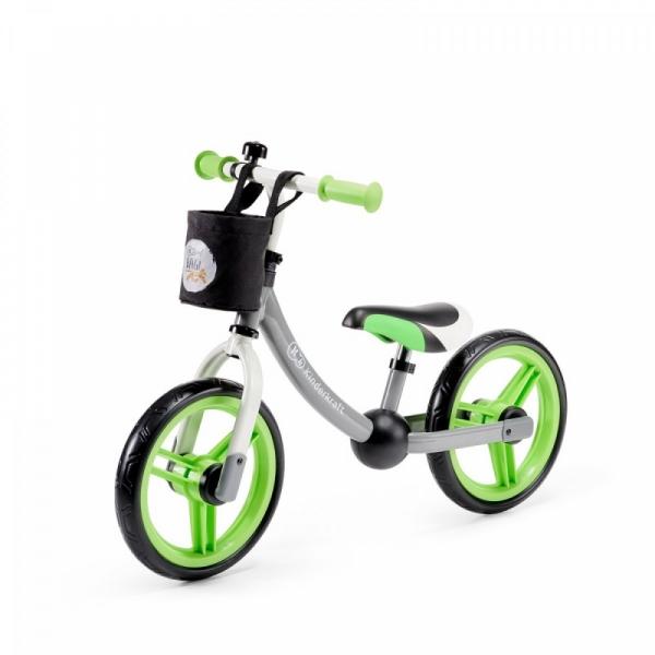 Rowerek biegowy 2way next zielony/szary (KKR2WNXGRE00AC)